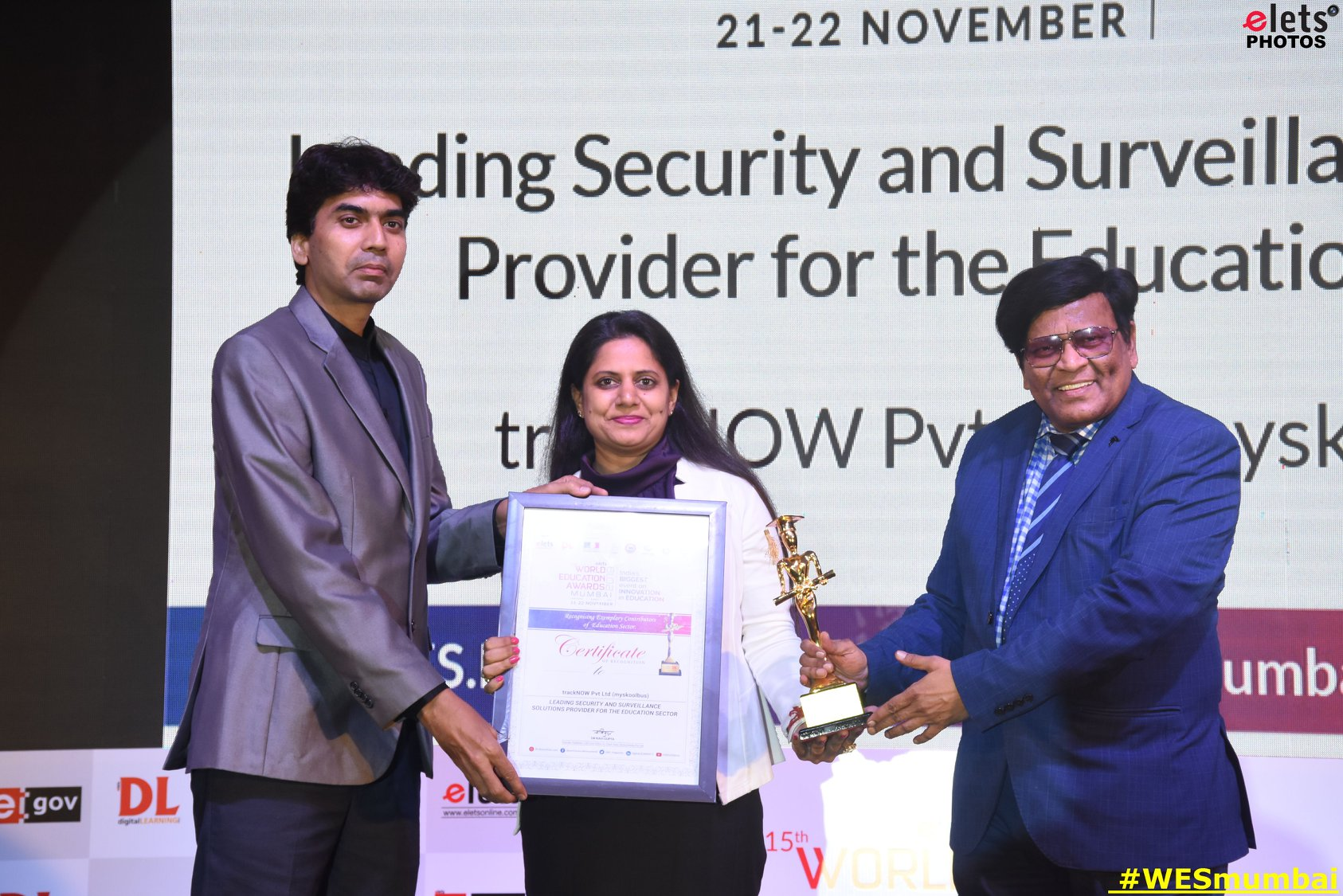 Leading Security and Surveillance Solution Provider for the Education Sector - World Education Summit Mumbai 2019